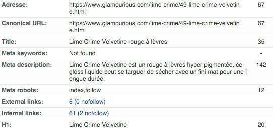 Exemple URL Rewriting