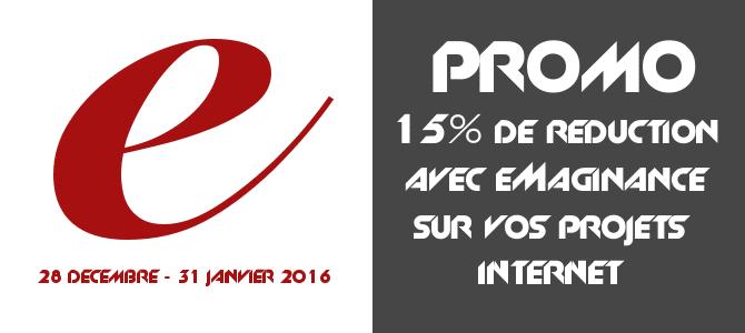 Bon Plan 15% réduction création site internet Nice