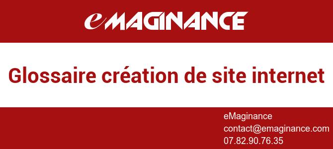 Glossaire création de site internet Nice, Cannes, Antibes, Monaco