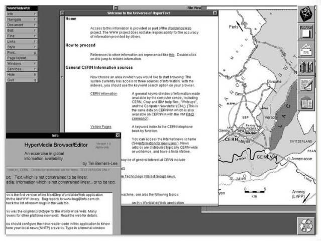 La première page web de Tim Berners-Lee