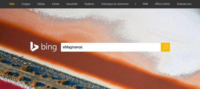 Bing moteur de recherche Microsoft