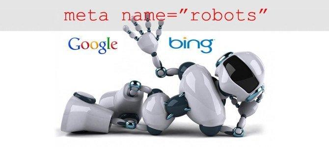 Meta name robots SEO Référencement