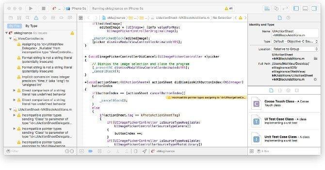 Xcode Apple eMaginance - Nice