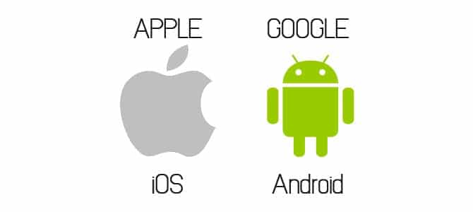 Apple iOS Google Android