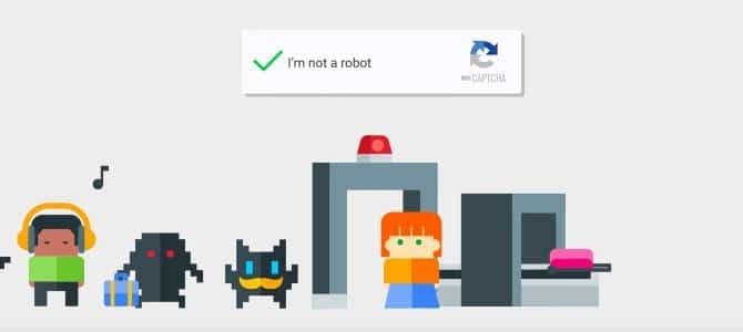 Google Captcha I'm not a robot