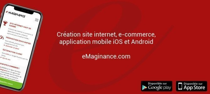 Création site internet de Nice à Paris