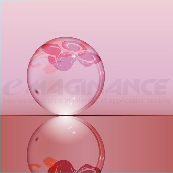 Boule de Cristal 3D Logo Design