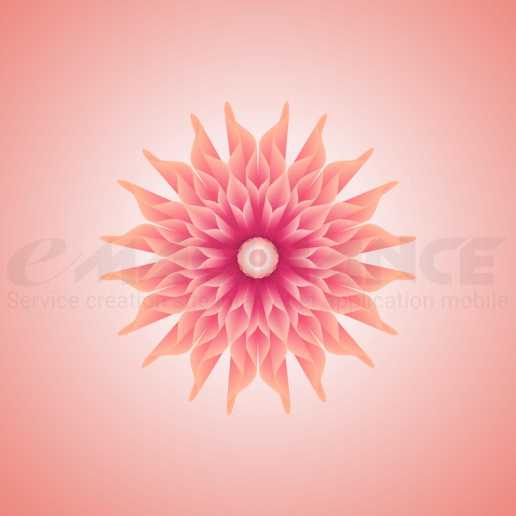 Flower 3D Graphic Design