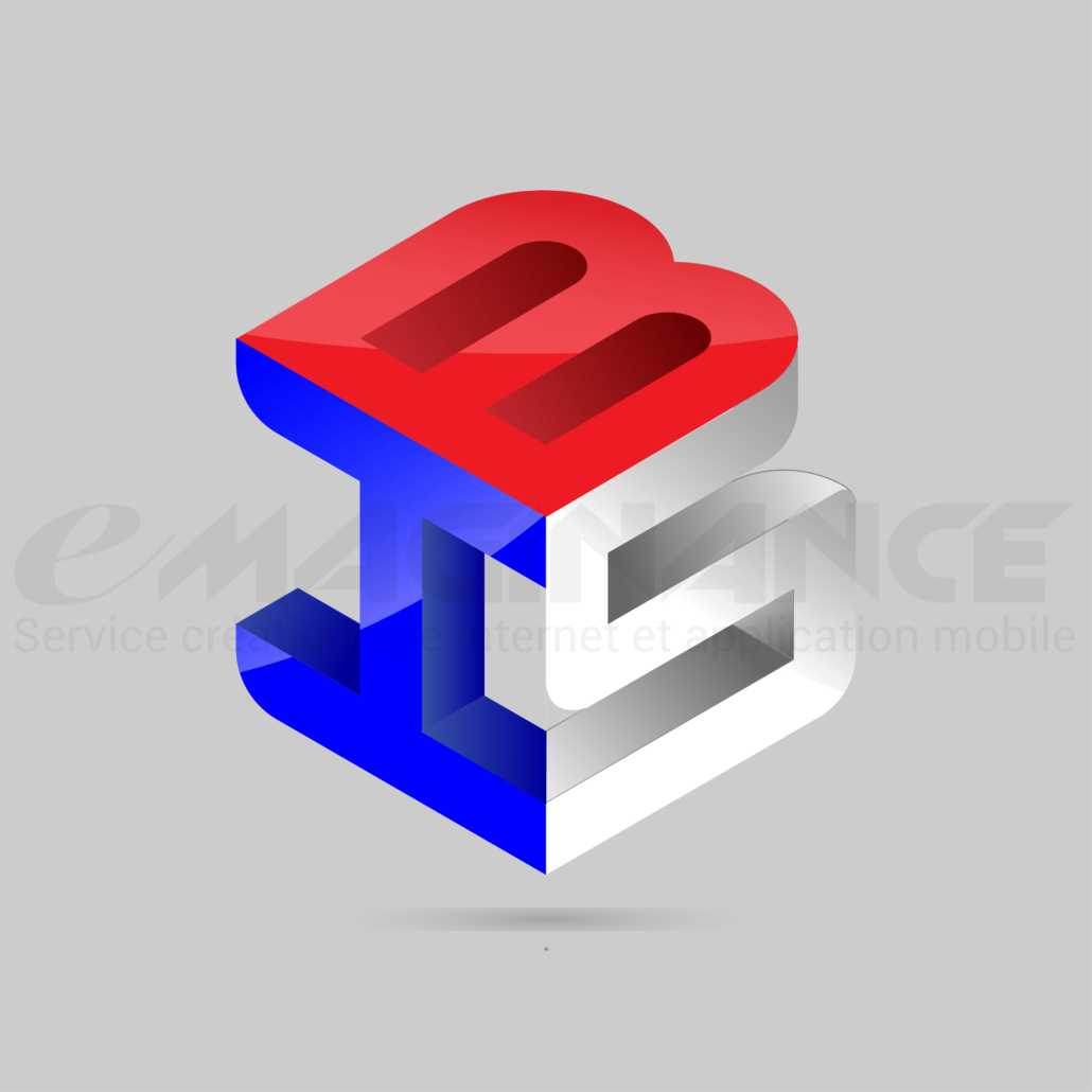 ISB Cube 3D Logo Design