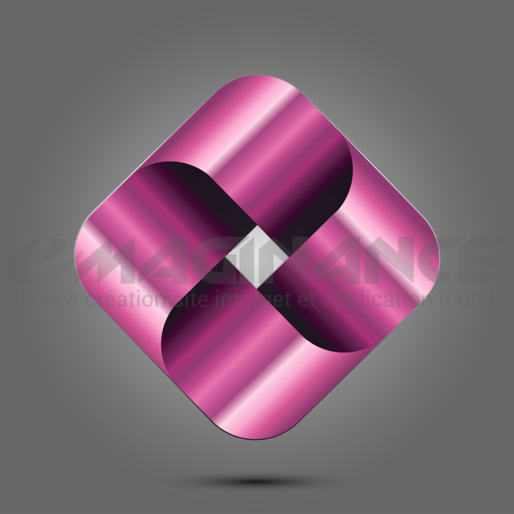 Losange 3D Graphic Logo Design