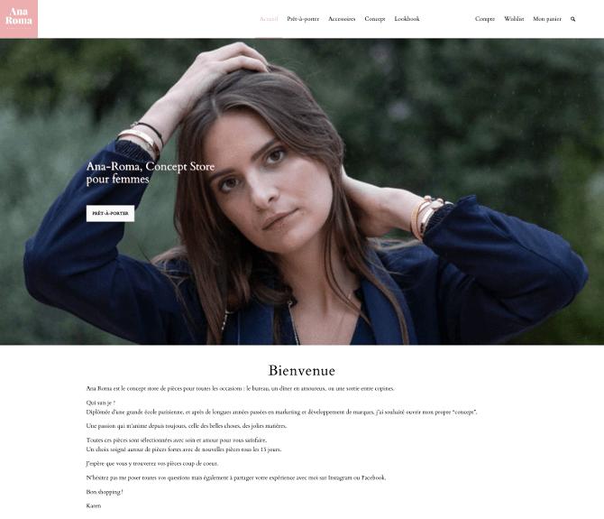 Ana-Roma, concept store pour femmes